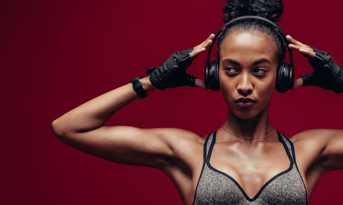 ฟังเพลงตอนออกกำลังกาย