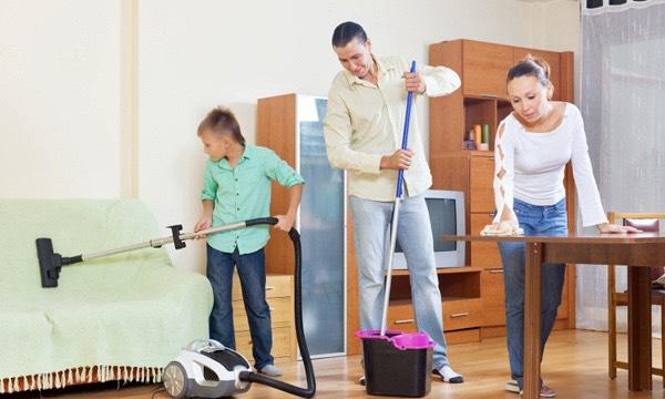 ออกกำลังกาย ง่ายๆด้วยการทำงานบ้าน
