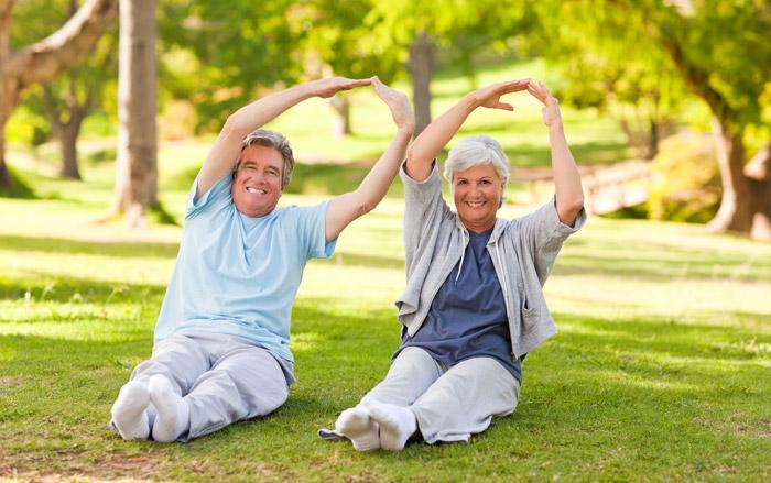 การออกกำลังกายในผู้สูงอายุ