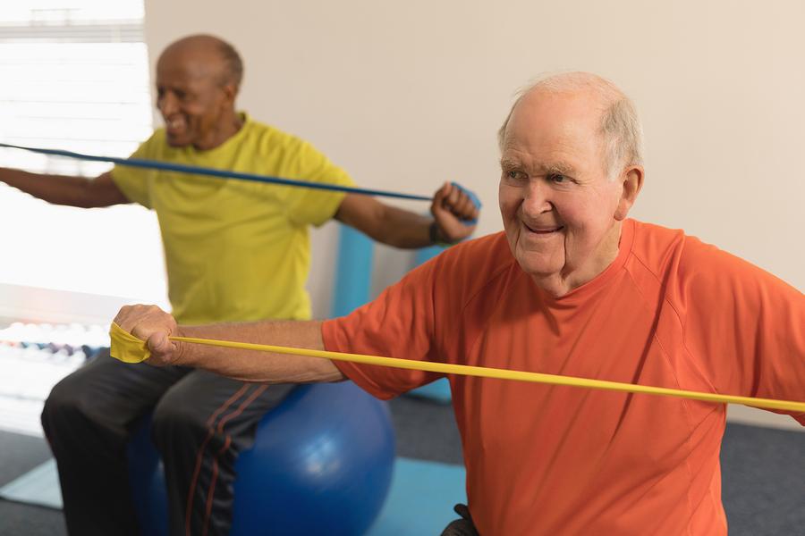 การออกกำลังในผู้สูงวัย