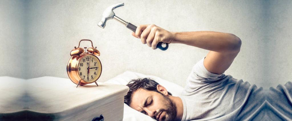 การปลุกตัวเองให้ตื่น